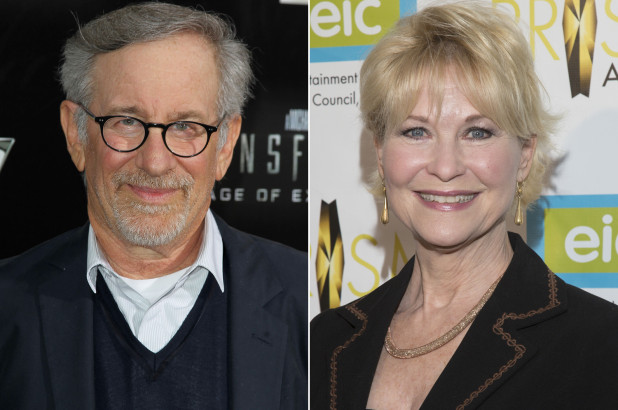 Actress DEE WALLACE & Stephen Spielberg